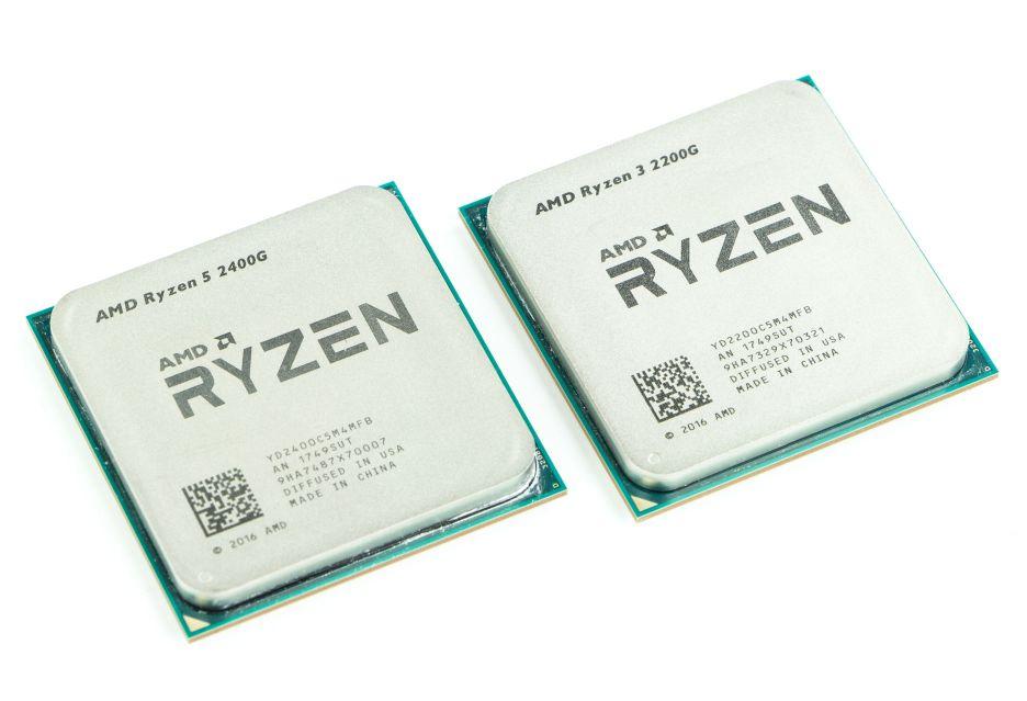 Procesory Ryzen 3 2200G i Ryzen 5 2400G już w naszym rankingu CPU