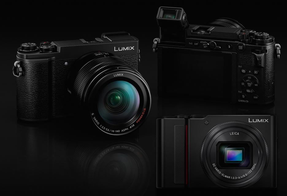 Aparaty Panasonic Lumix GX9 i TZ200 - podobny wygląd, ale całkiem inna klasa produktu