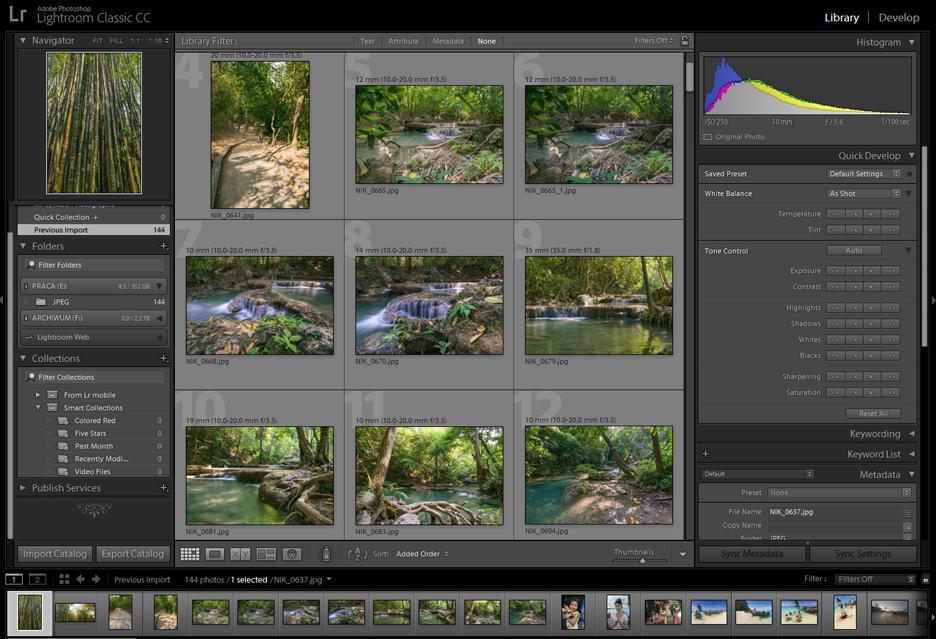 Pojawił się Adobe Lightroom Classic 7.2 - docenią go posiadacze dużej ilości RAMu