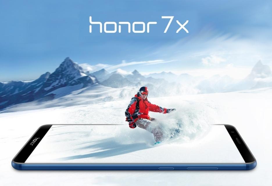 Honor 7X za niespełna 1000 zł, do tego z prezentem