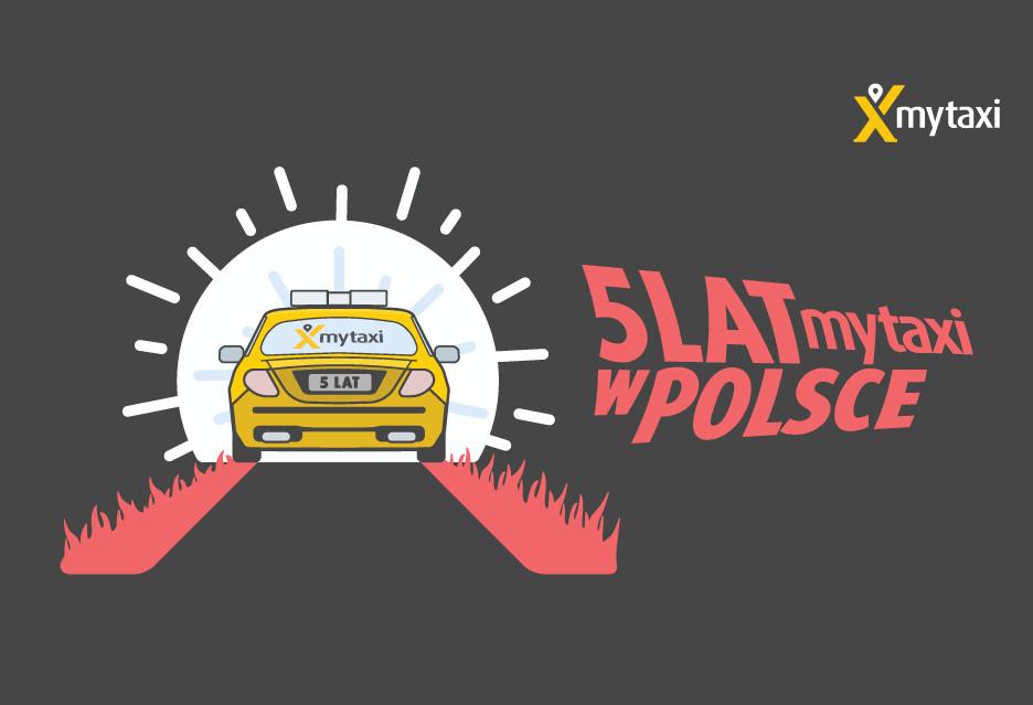 5 lat mytaxi w Polsce - korzystacie?