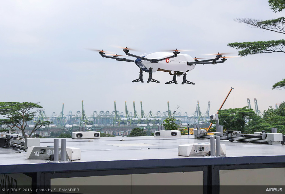 Dostawy zautomatyzowane - Airbus testuje ciekawe rozwiązanie