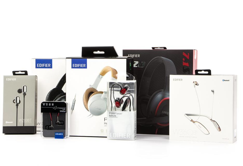 Słuchawki Edifier - test 7 zestawów | zdjęcie 1