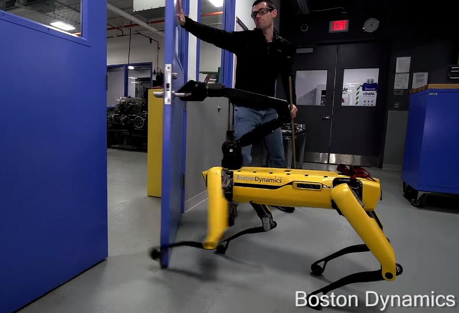 Dokuczanie robotom II - Boston Dynamics znowu to robi