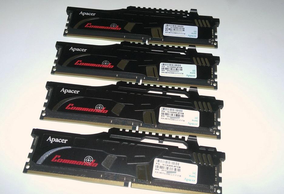 Apacer prezentuje pamięci z serii Commando DDR4-3600 CL17 oraz DDR4-3466 CL16