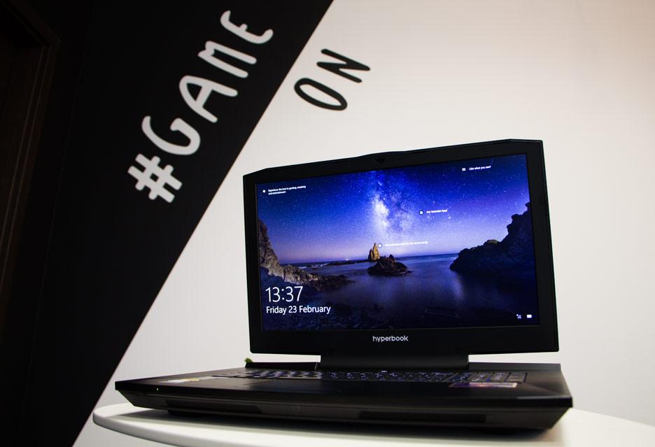 Hyperbook GTR87 VR3 - żaden laptop do gier mu nie podskoczy | zdjęcie 1