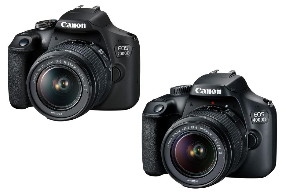 Canon EOS 2000D i EOS 4000D - amatorska i bardzo amatorska lustrzanka