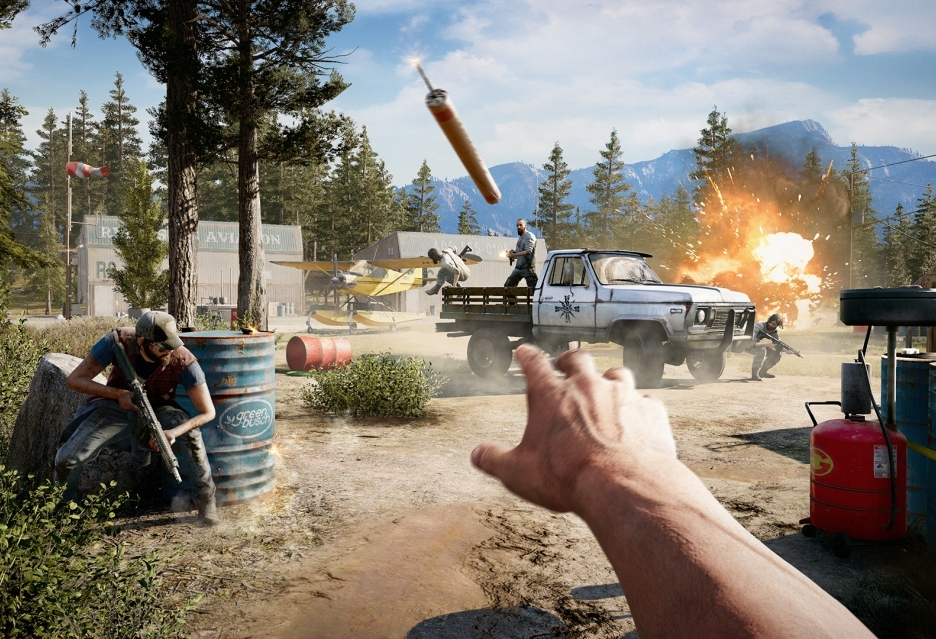 Far Cry 5 za darmo do komputerów z kartami Radeon RX 580, Vega 56 i Vega 64