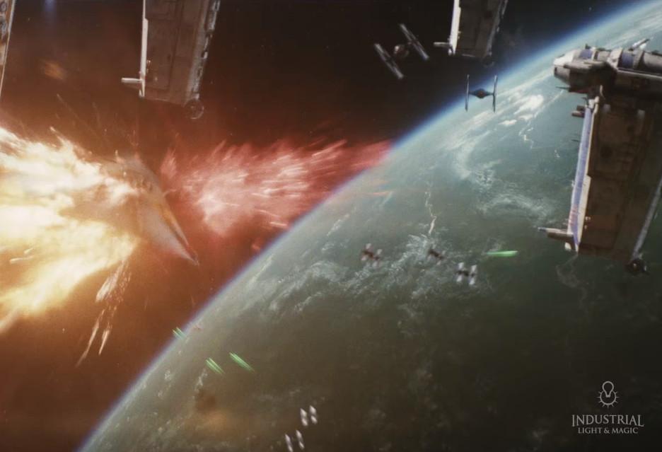 Gwiezdne wojny: Ostatni Jedi - spójrzcie na efekty specjalne zza kulis