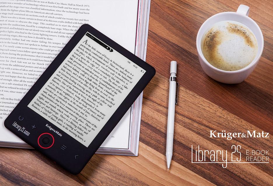 Czytnik e-booków za małe pieniądze od Kruger&Matz