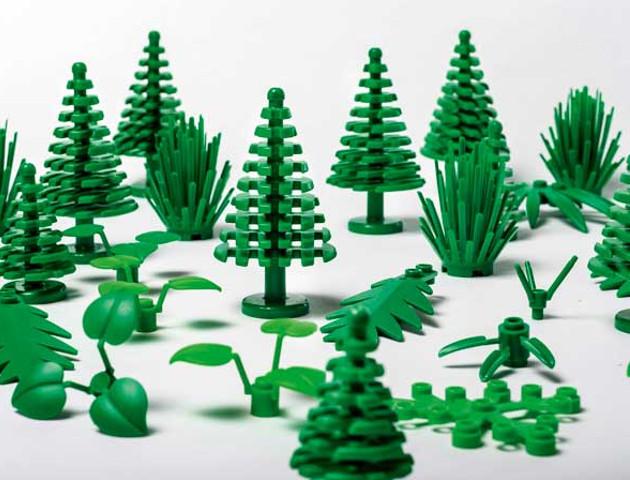 """""""Zielone"""" klocki LEGO"""