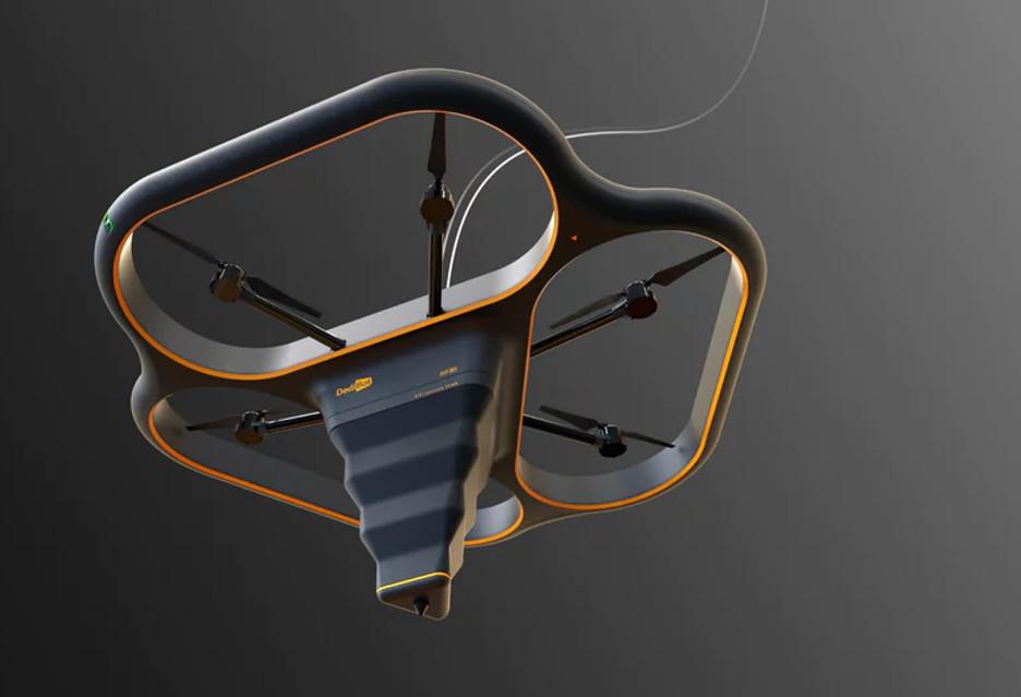 Fly Elephant, czyli latająca drukarka 3D