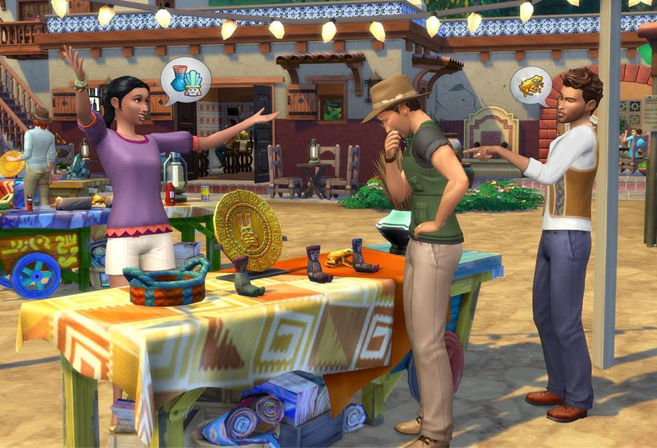The Sims 4: Przygoda w dżungli – wakacje, atrakcje, starożytne cywilizacje | zdjęcie 1
