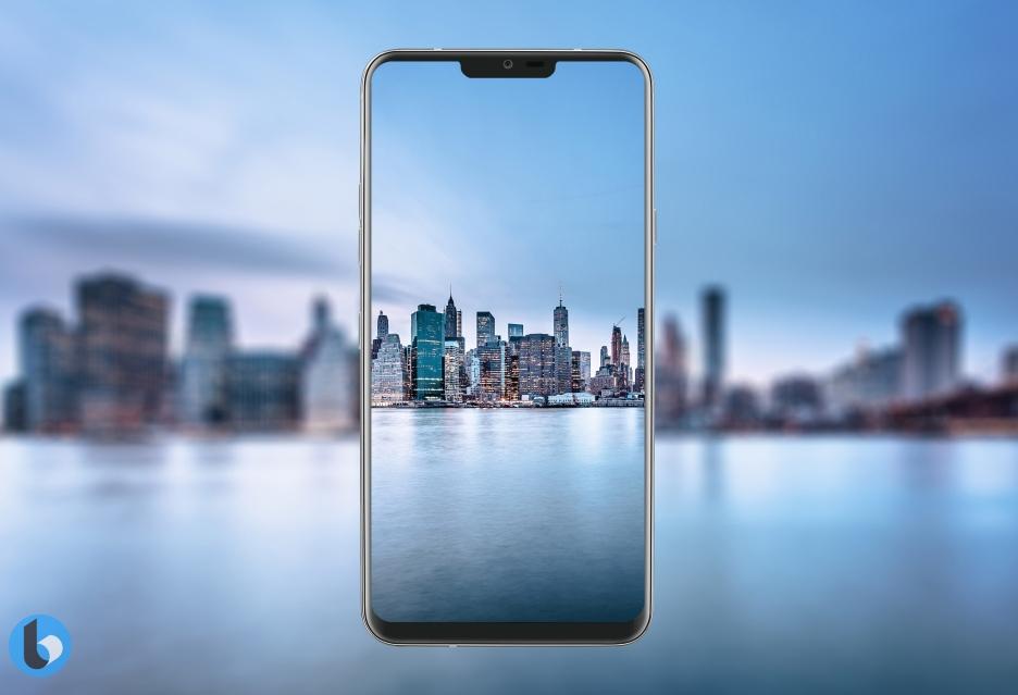 Rendery LG G7 z wyświetlaczem na wzór iPhone'a X - tak może wyglądać nowy flagowiec