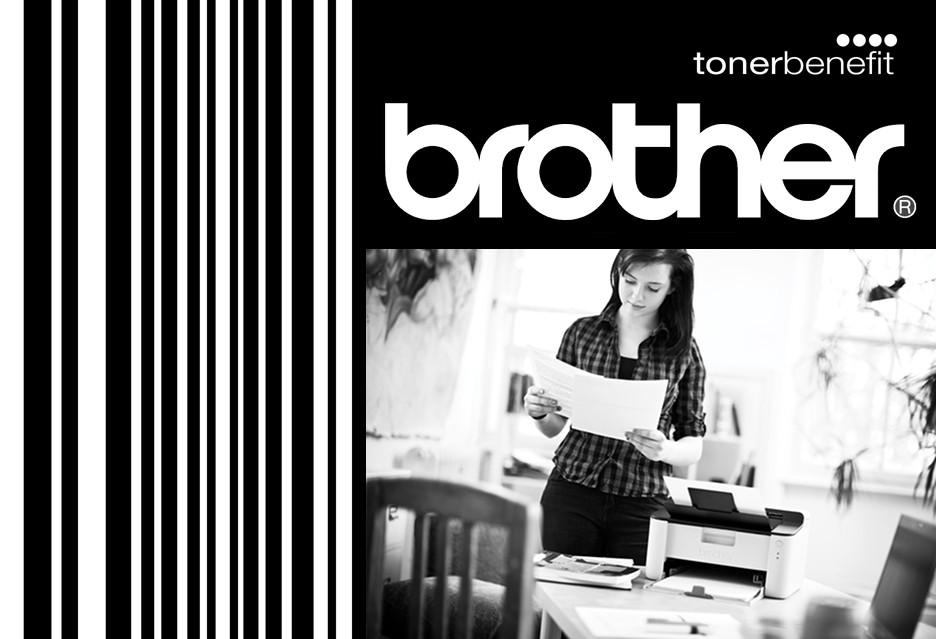 Brother obiecuje tanie drukowanie z TonerBenefit