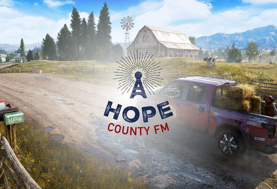 Far Cry 5 coraz bliżej - słuchaj radia Hope County FM i wygraj PS4 Pro