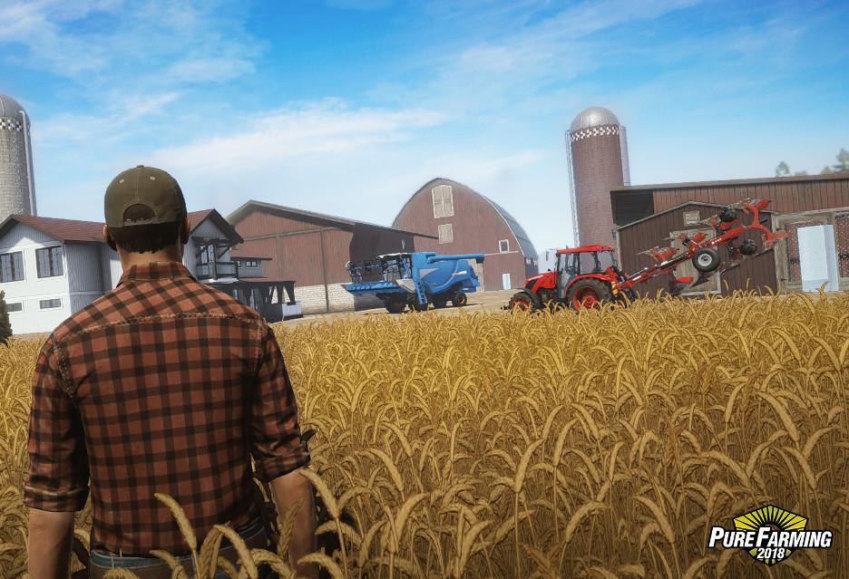 Nowy polski symulator farmy - dziś premiera Pure Farming 2018