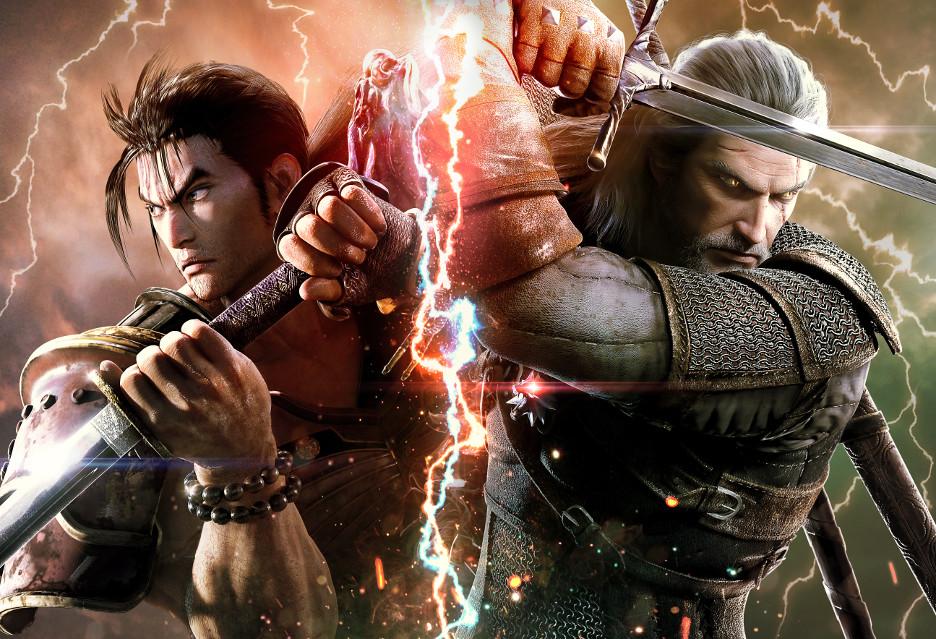 Geralt z Rivii w Soulcalibur VI - w grze i na okładce!