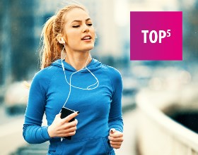 Jakie słuchawki do biegania. TOP 5