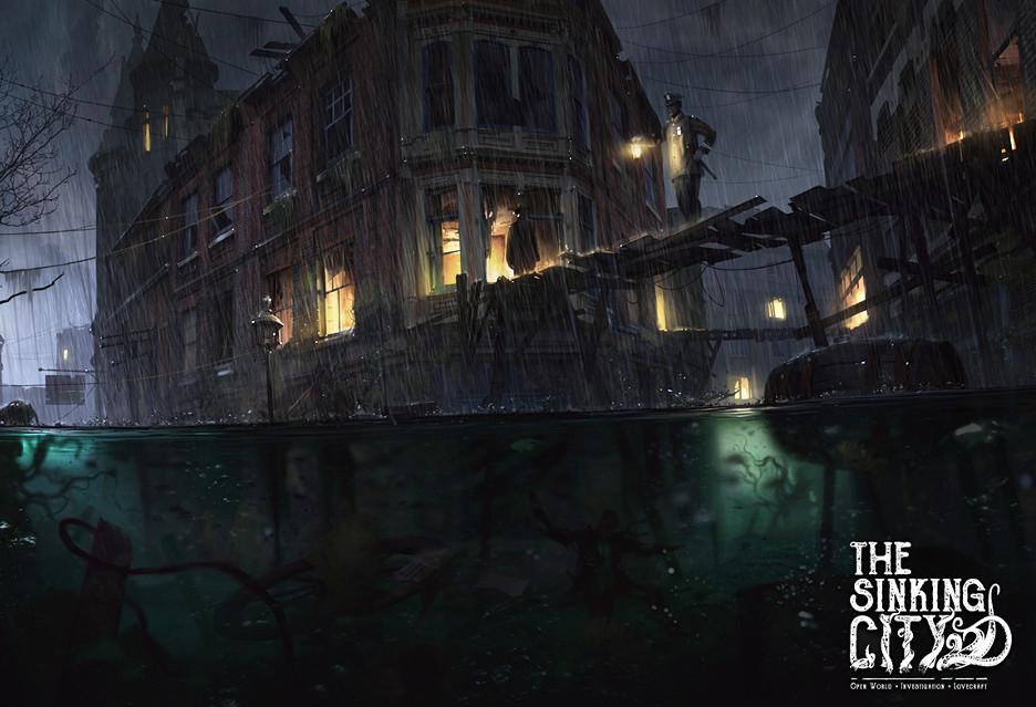 Tak wygląda The Sinking City - przygodówka w stylu Lovecrafta