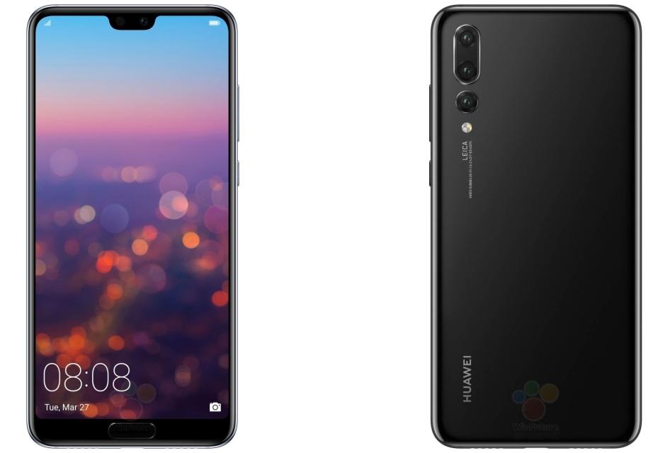Huawei P20 Pro zaoferuje potrójną kamerę 40 Mpix + 20 Mpix + 8 Mpix
