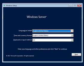 Windows Server 2019 w wersji Preview
