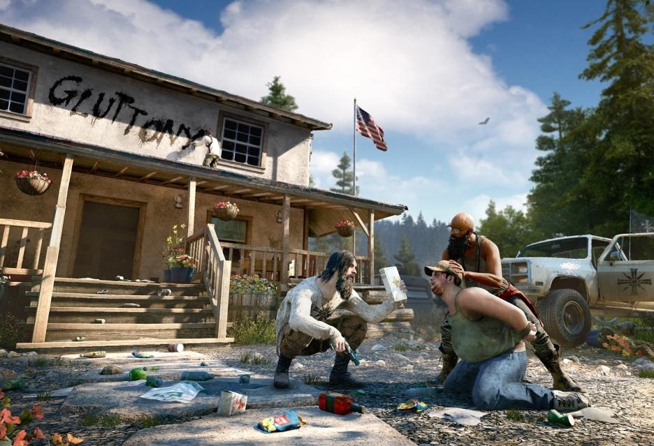 Far Cry 5 - porównanie grafiki na konsolach