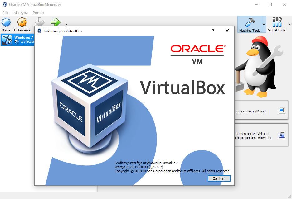VirtualBox 5.2.8 do pobrania - wirtualna maszyna dla każdego