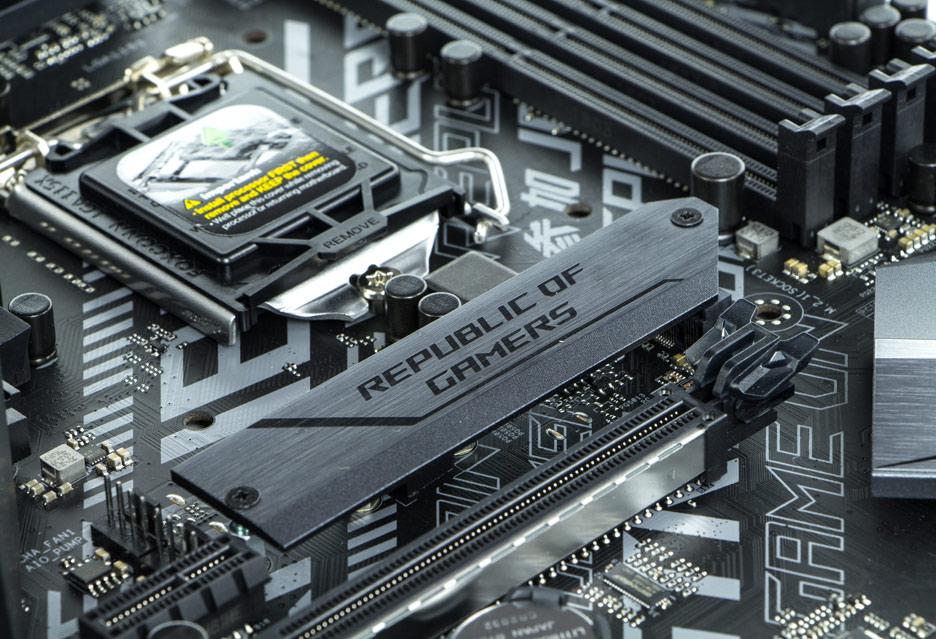 ASUS ROG STRIX B360-F Gaming - tańszy chipset, niezłe wyposażenie | zdjęcie 1