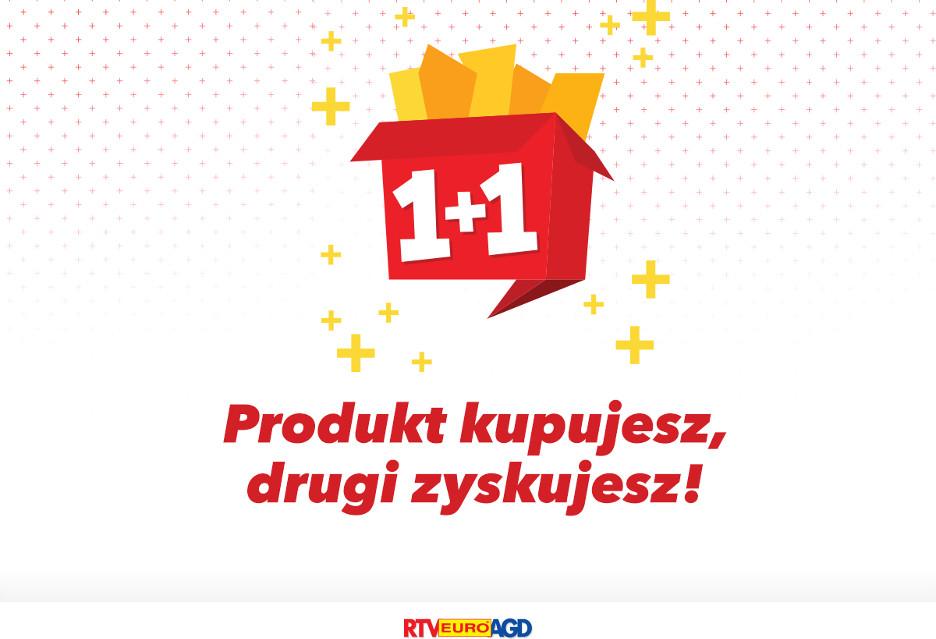 W RTV Euro AGD jeden produkt kupujesz, drugi zyskujesz