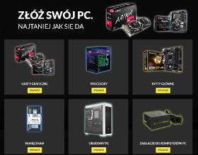 Złóż swój PC najtaniej jak się da - wybierz podzespoły z oferty RTV Euro AGD