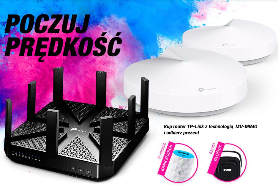 Kup router TP-Link z MU-MIMO i odbierz prezent