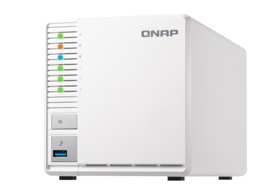 Niedrogi serwer NAS z 3 zatokami do domu - QNAP TS-328