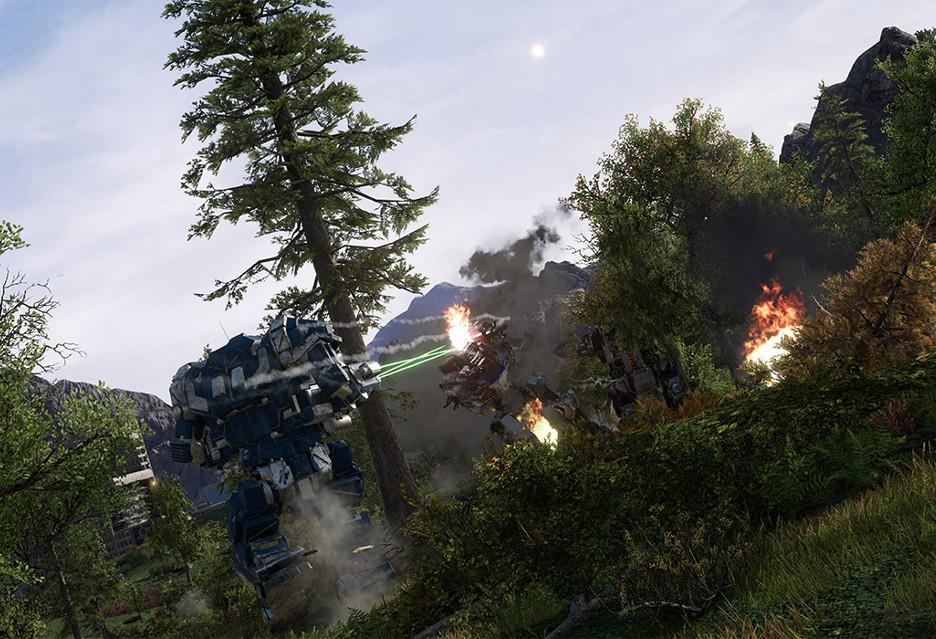 Nowy, wybuchowy zwiastun gry MechWarrior 5: Mercenaries