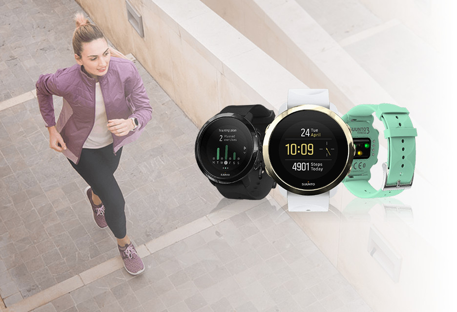 Stylowy i funkcjonalny zegarek dla aktywnych - Suunto 3 Fitness