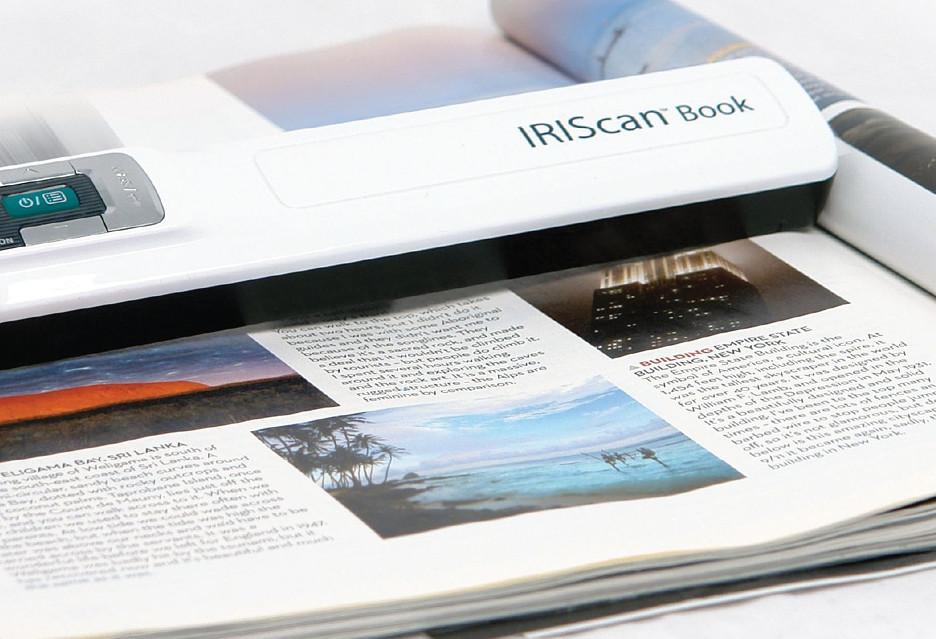 Jak szybko i wygodnie skanować książki? Z IRIScan Book 3