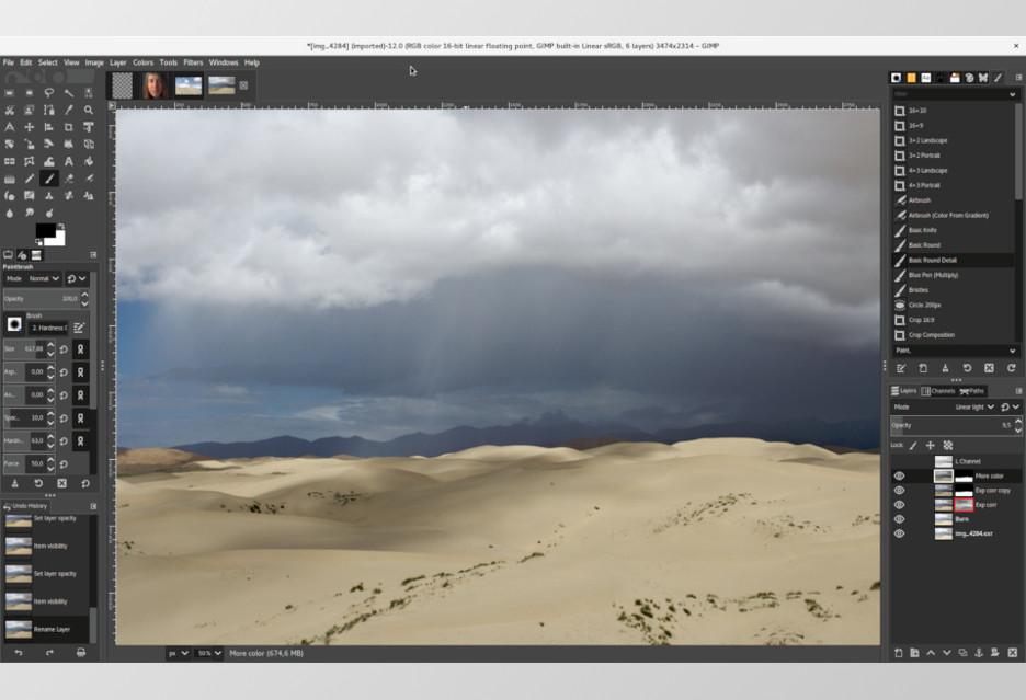 GIMP 2.10 już jest - potężna aktualizacja programu