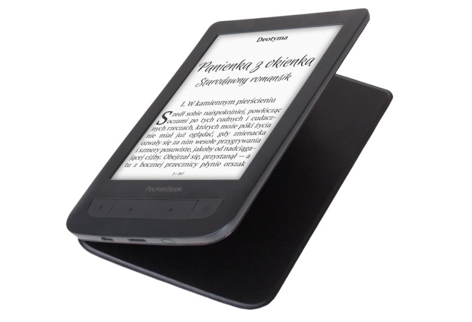 PocketBook Basic Touch 2 Save & Safe - czytnik ze zintegrowaną okładką
