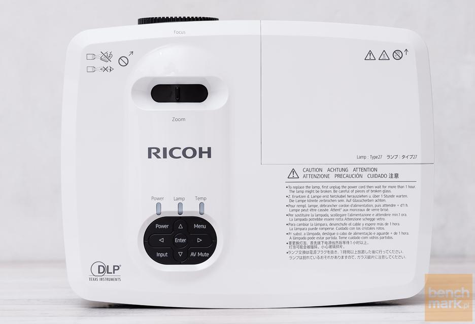 RICOH PJ WX2440 - dobre biznesowo-edukacyjne HD | zdjęcie 9