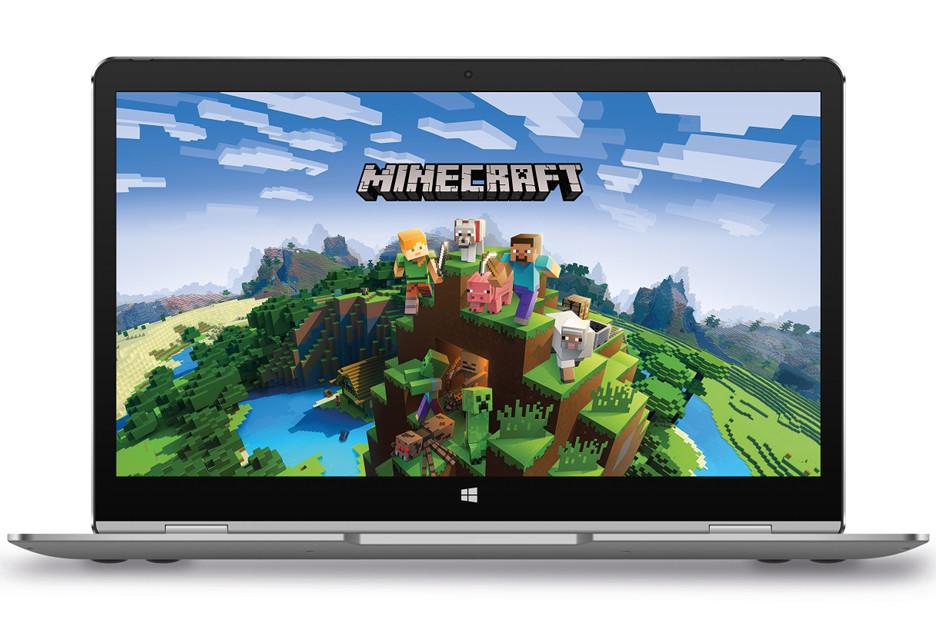 Kiano Elegance 13.3 360 to lekki laptop 2w1 z Minecraftem w zestawie