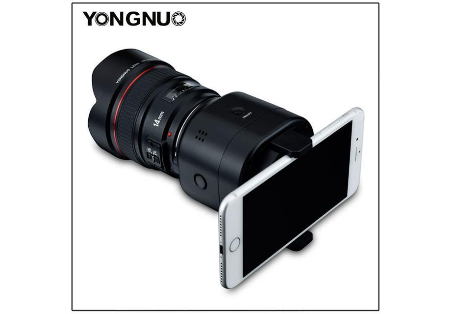Yongnuo serwuje nam powtórkę z rozrywki - moduł bezlusterkowca dla smartfona