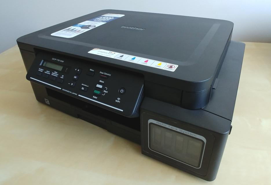 Brother DCP-T510W – tanie w eksploatacji urządzenie 3w1 | zdjęcie 1