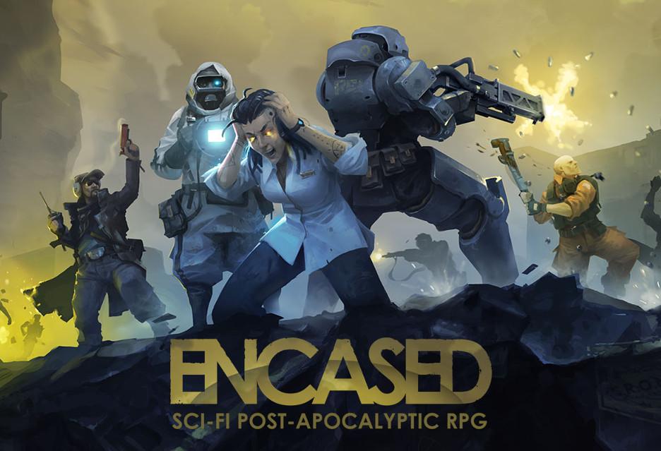 Nowe oldschoolowe RPG w drodze - Encased