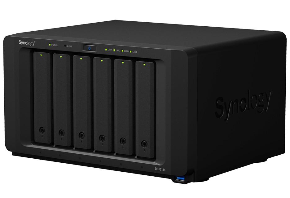 Synology DS1618+ to wydajny serwer NAS do niedużej firmy