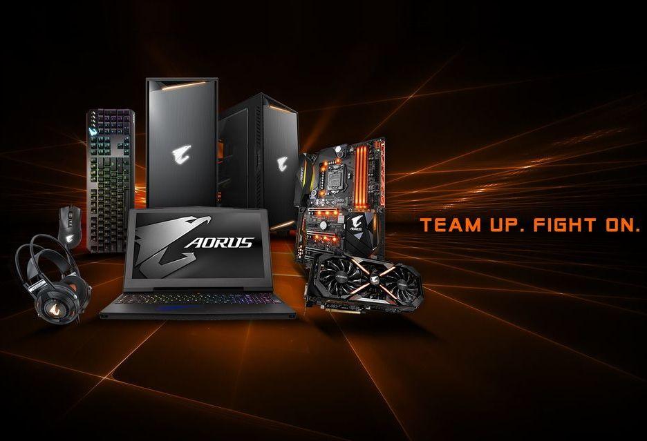 Gigabyte wchodzi na rynek pamięci RAM - w planach moduły Aorus RGB