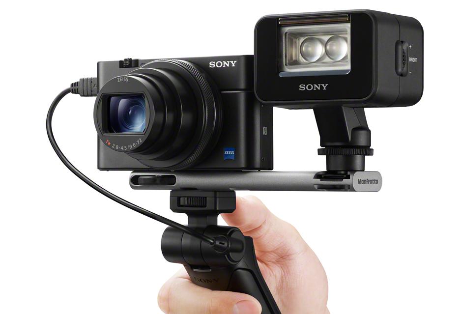 Gdy kompakt Sony RX100 czy kamerka RX0 tonie w dłoni jest recepta - uchwyt VCT-SGR1