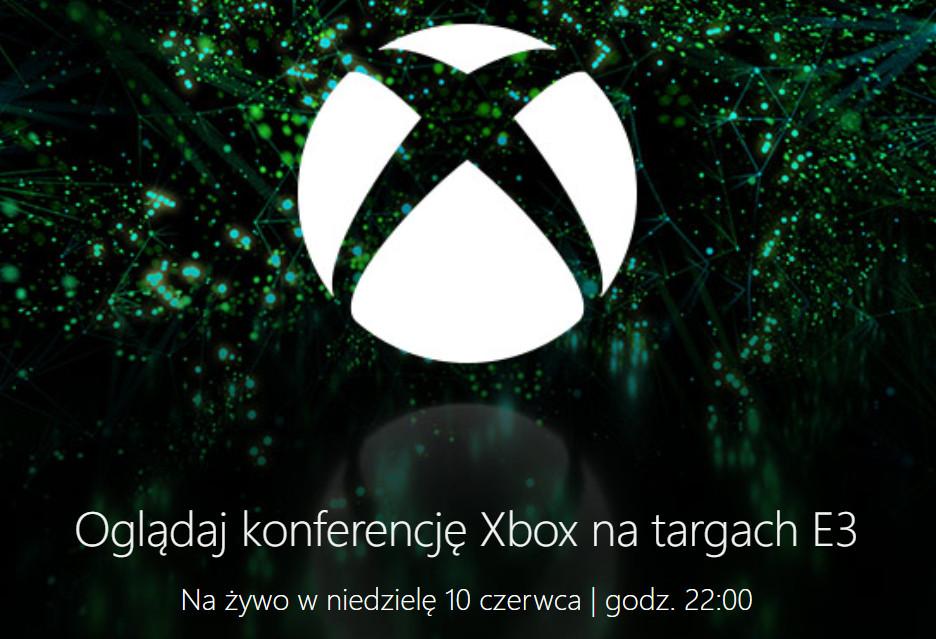 Konferencja Xbox na E3 2018 - oglądaj z nami