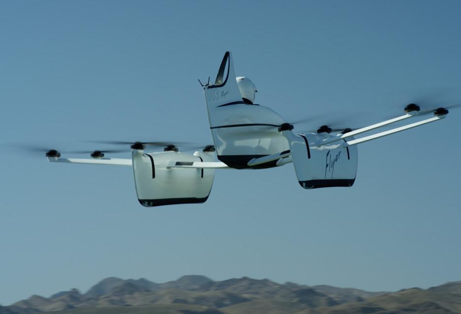 """Kitty Hawk Flyer to """"latający samochód"""" rozumiany nieco inaczej"""