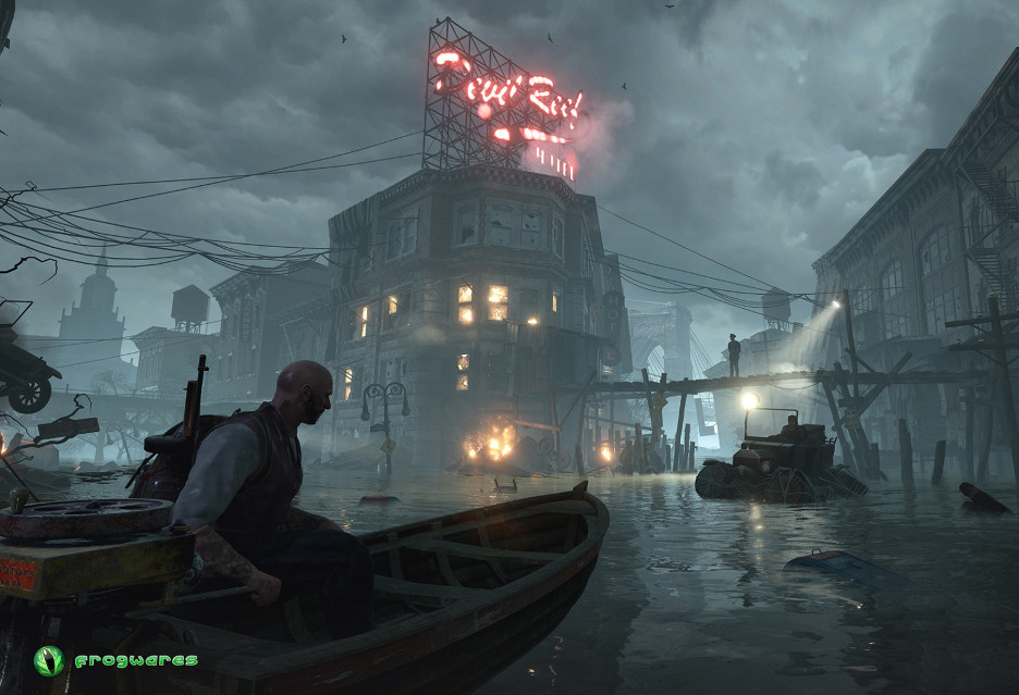 The Sinking City - kolejne spojrzenie na dochodzenie w niebezpiecznym świecie [AKT.]