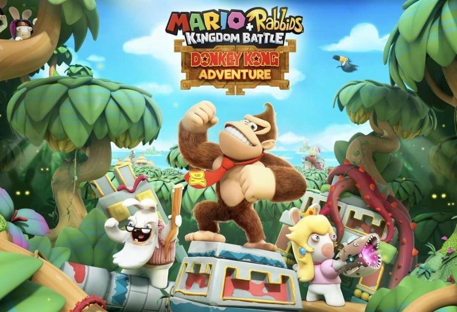 Mario + Rabbids: Kingdom Battle wzbogaci się o dodatek Donkey Kong Adventure
